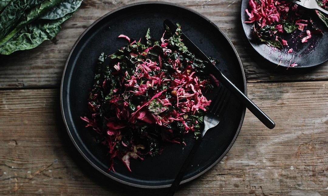 Kale detox salad -
