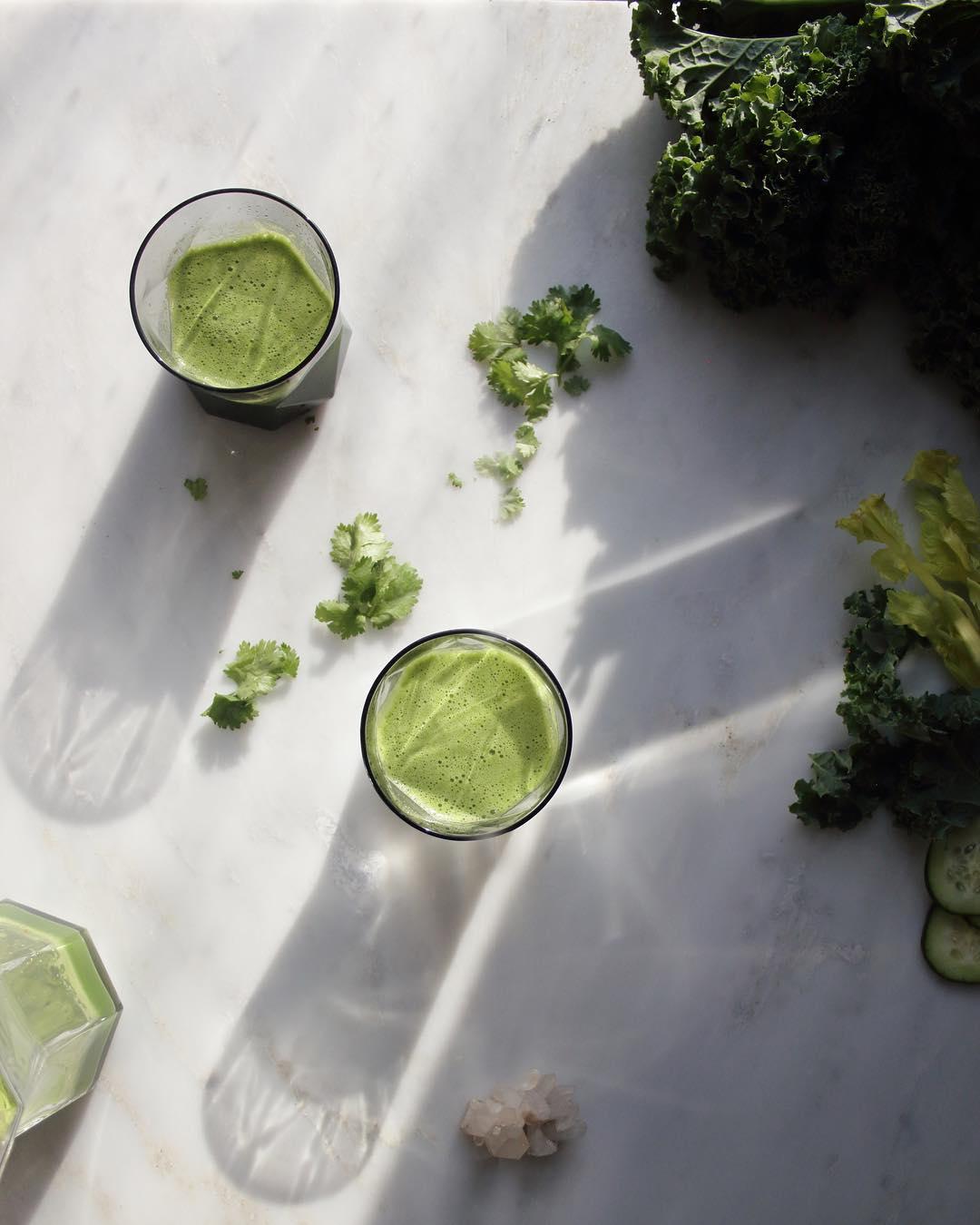 Green Detox Juice - Heart Chakra