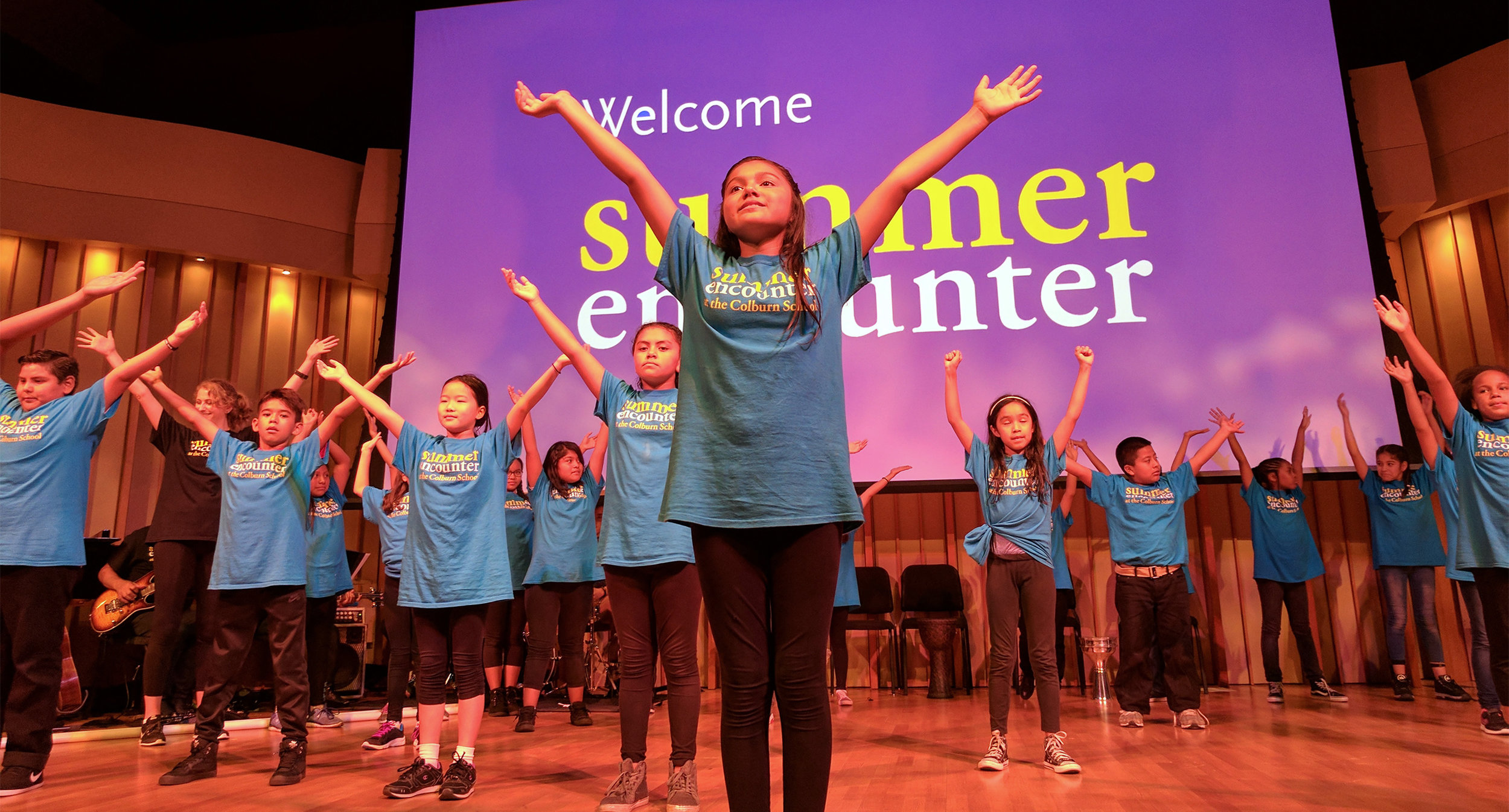 The Summer Encounter finale performance in Zipper Concert Hall at the Colburn School in Los Angeles