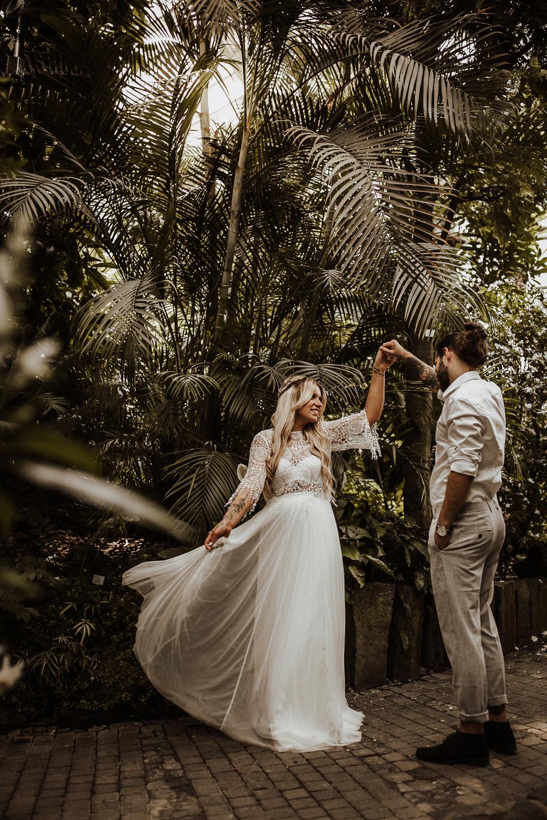 Bride Palmengarten