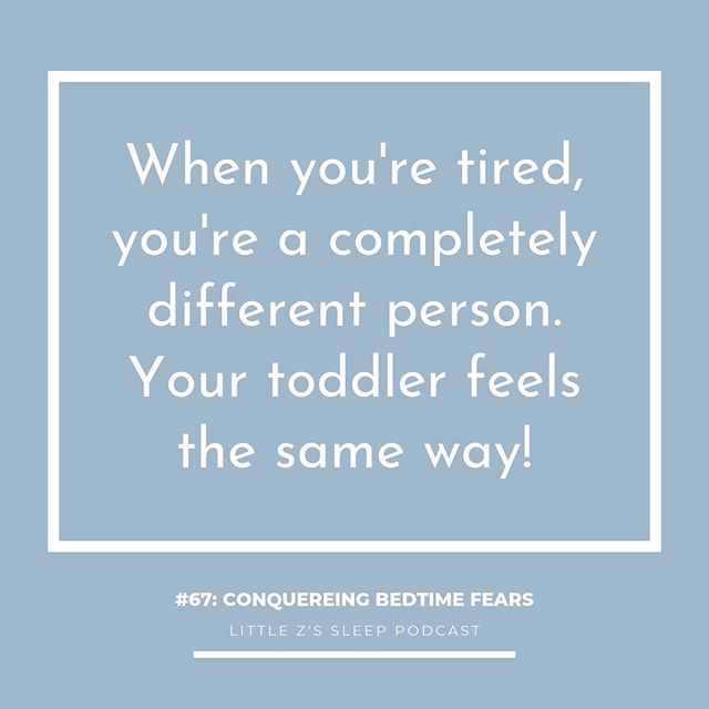No duh, Becca! 😂 But seriously, don't forget that when your KID feels tired...they will behave quite differently! Having fears at bedtime is one way over tiredness manifests itself. If your little one has a too-late bedtime, they can be more prone to say they are afraid of _____, need you to stay, and cry. Today on the Podcast I'm talking about CONQUERING BEDTIME FEARS WITH YOUR TODDLER & PRESCHOOLER. There are so many strategies we can use to help your child work through their bedtime fears or anxieties. Over-tiredness is just one! Listen in to today's episode to learn more and start implementing these strategies right away!   LINK IN BIO