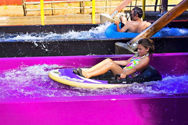 Slides & Attractions! - Check out Drop Zone, Kaleidoslide & all of our attractions!