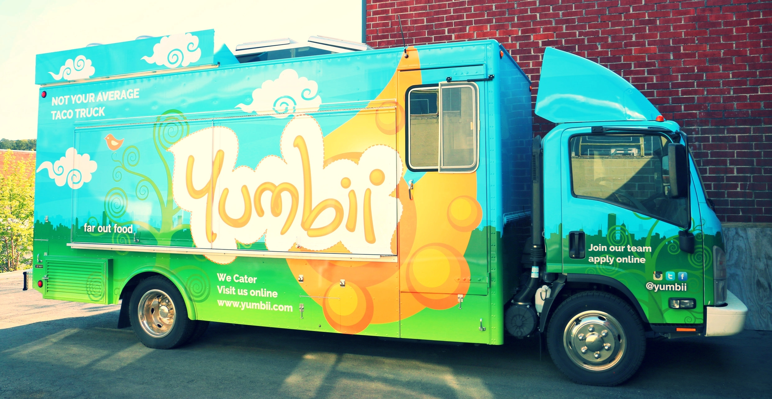 "YUMBII 3 (PICTURED ABOVE) : OUR ECO-FRIENDLY ""SUPER"" FOOD TRUCK"
