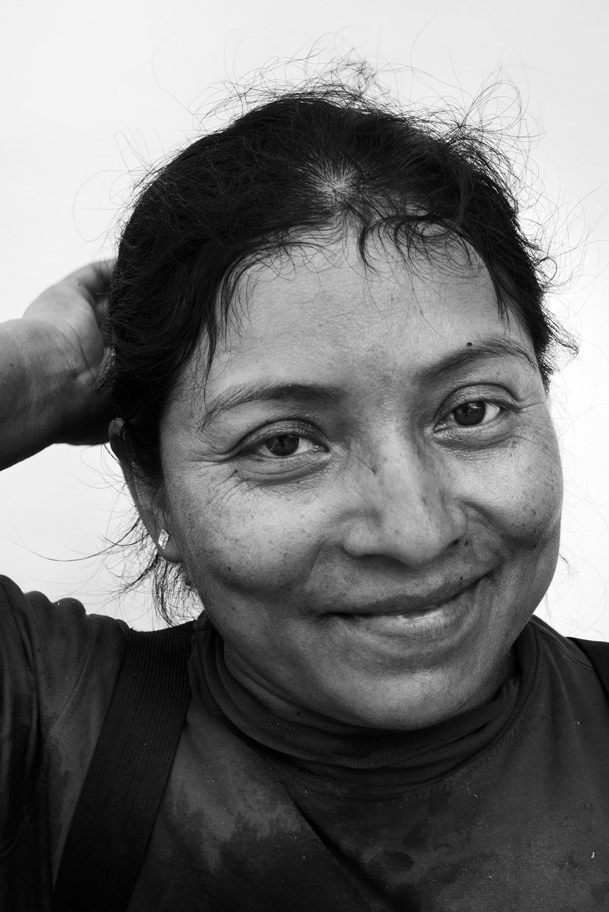 Hortensia Olivera, 30, Oaxaca, Mexico.