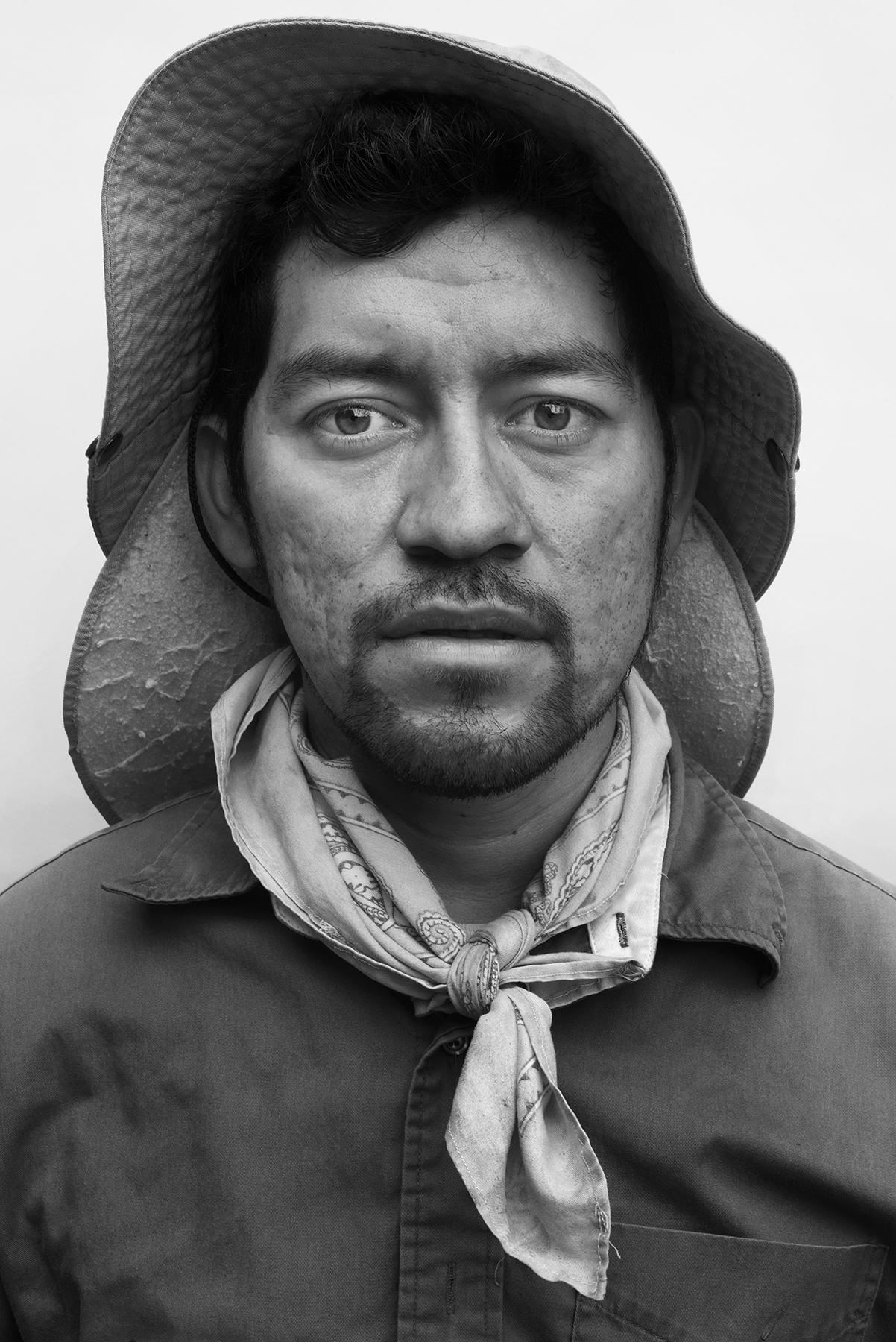 Luis Alberto, 30, Michoacán, Mexico.