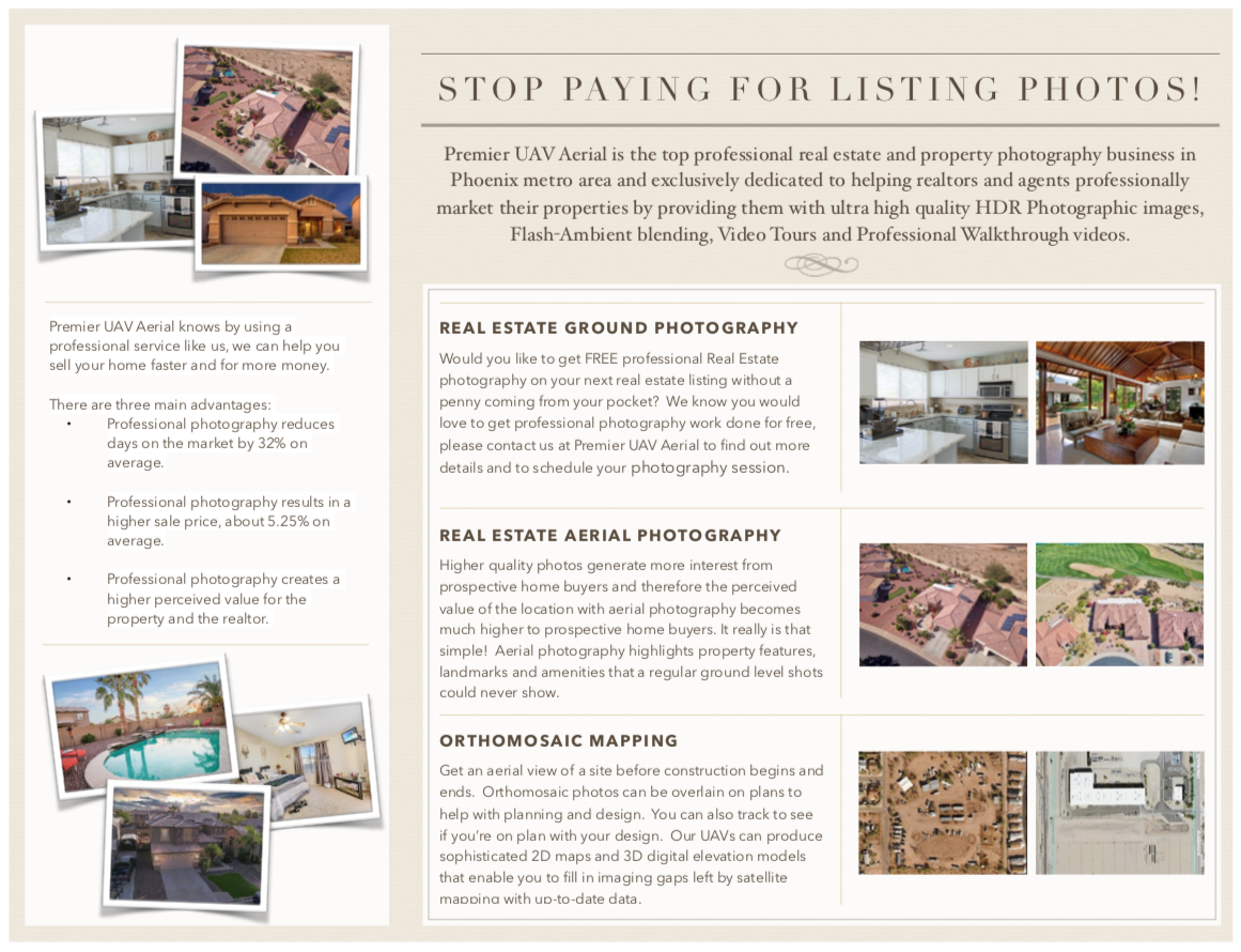 Real Estate Agents and Brokers Stop Paying for Listing Photos!