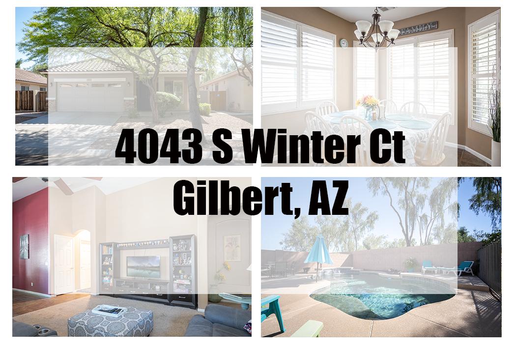 4043 S Winter Ct, Gilbert, AZ 85297