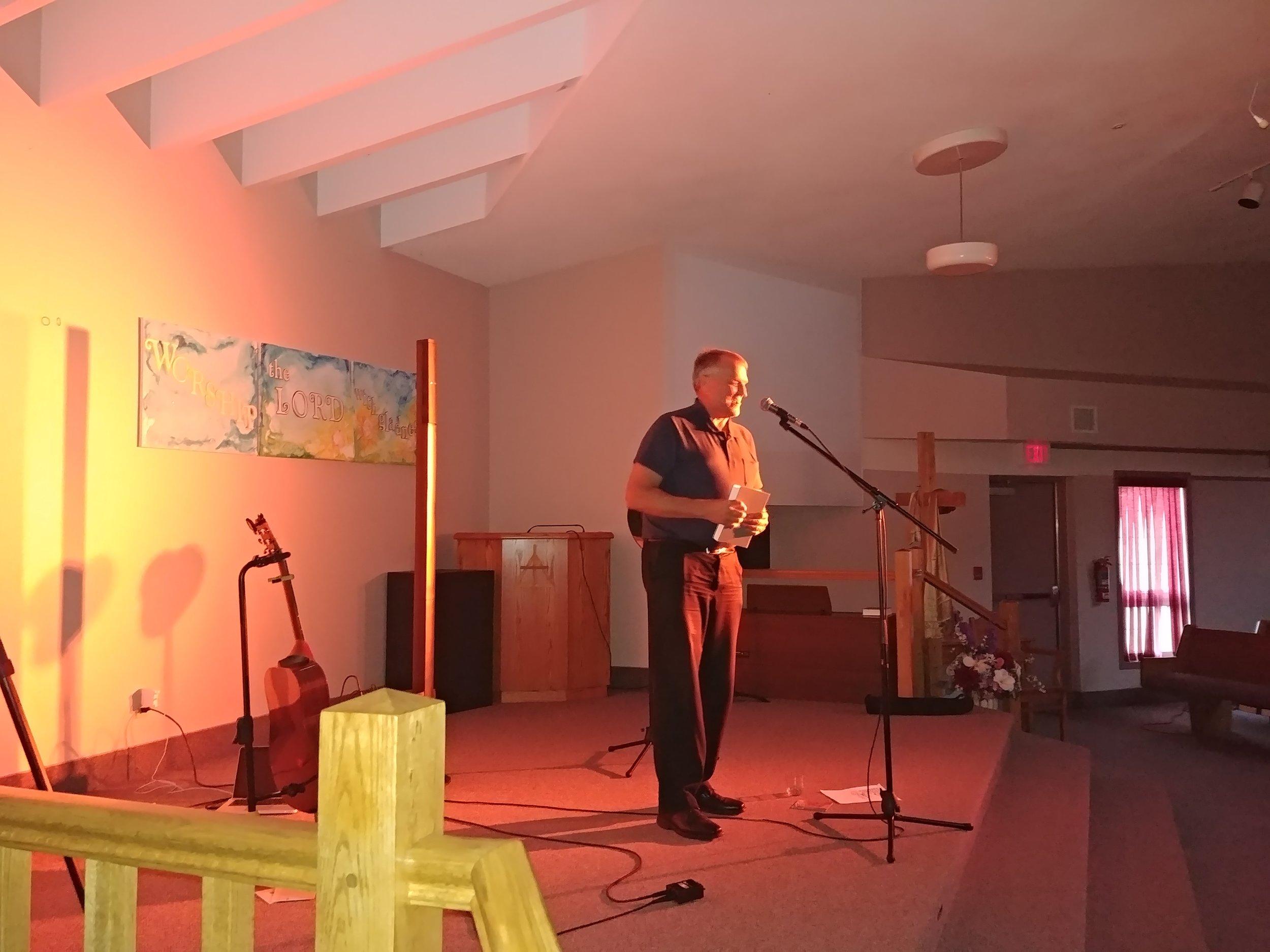 Mark Mast of One Hope Canada. -