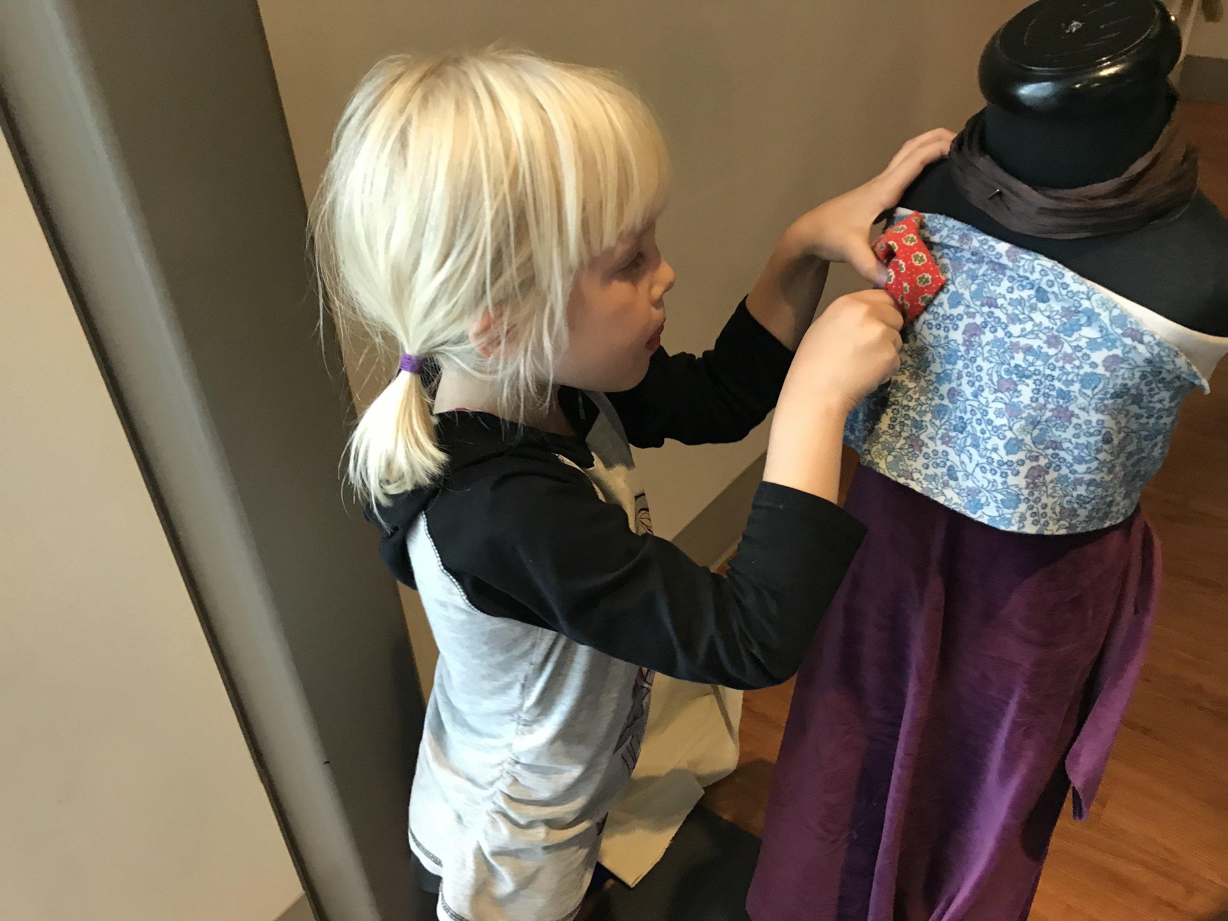 Fashionista in training.....