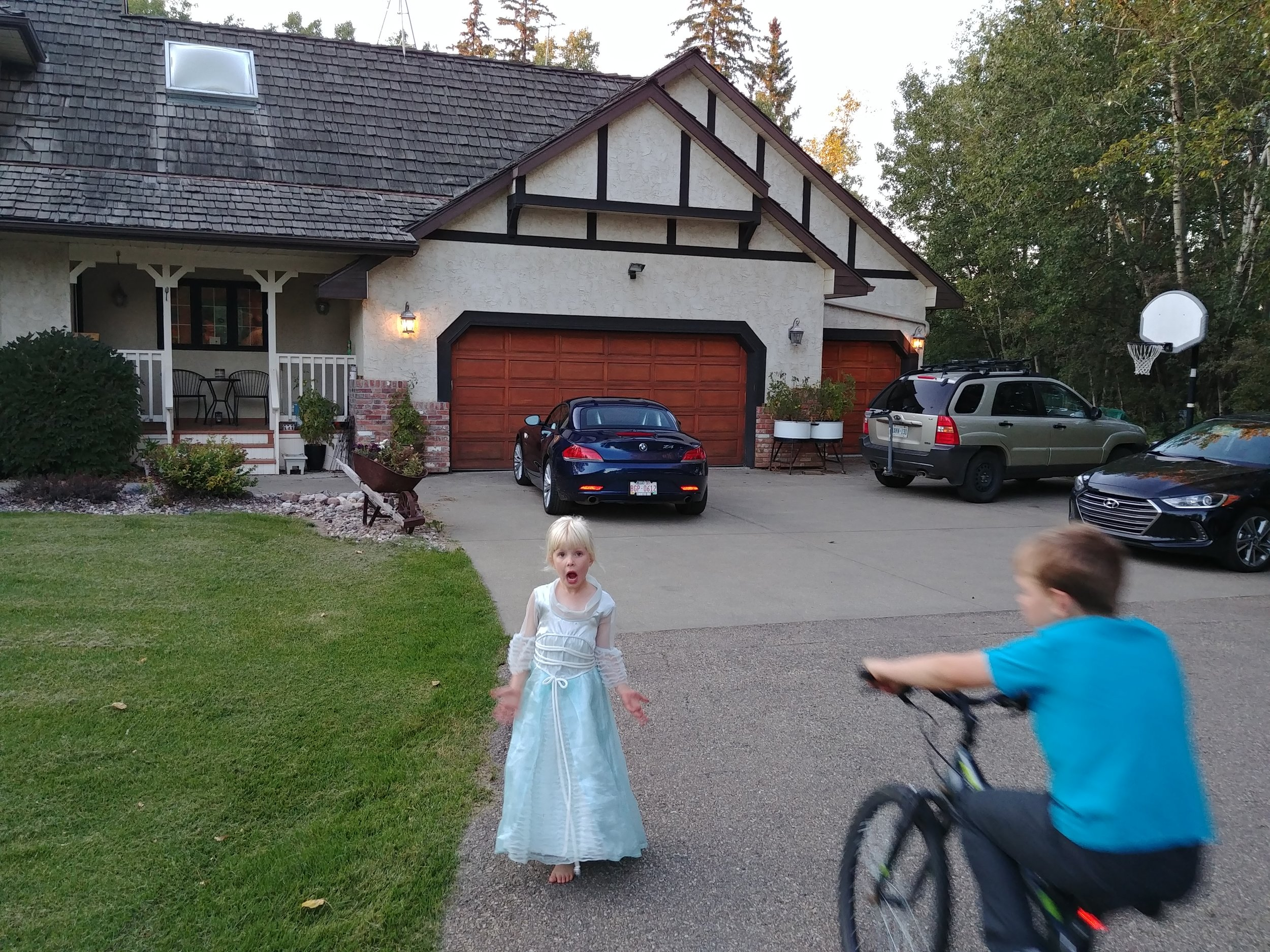 The princess and her cottage…