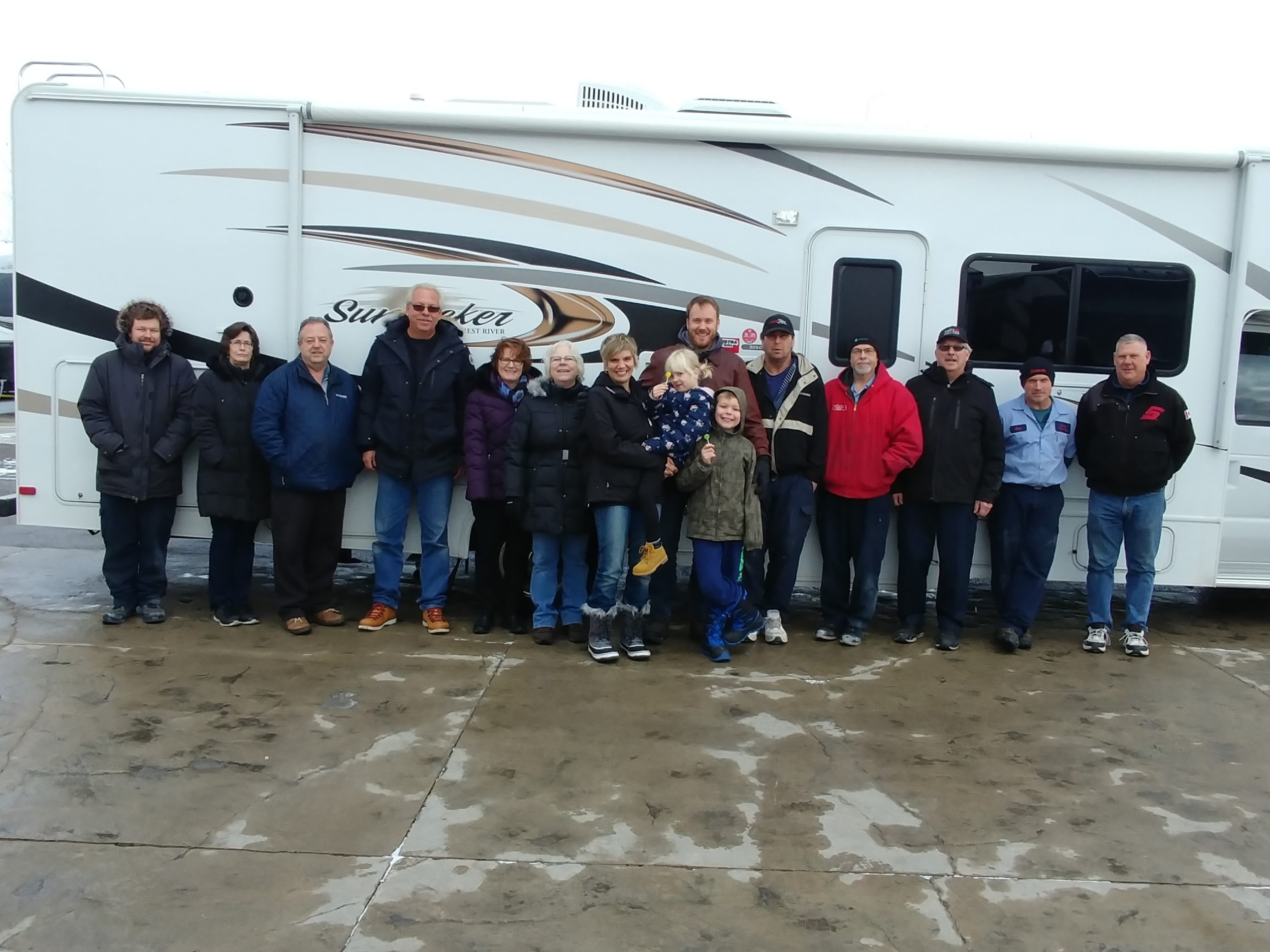 Thank you Hiemstra Trailer Sales - For your generous donation of Mabel for the use of the tour!