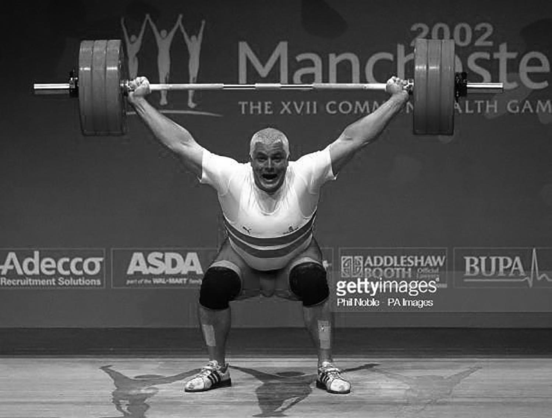 Giles Greenwood Commonwealth Gold Champion 2002