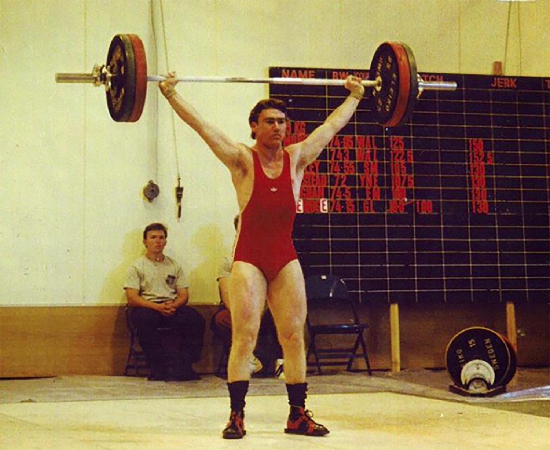 John at 75kg bodyweight