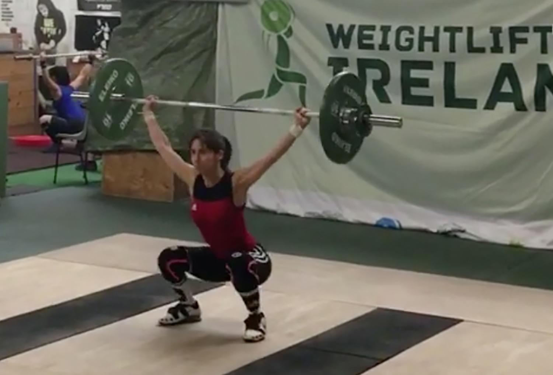 Amelia at 48kg bodyweight