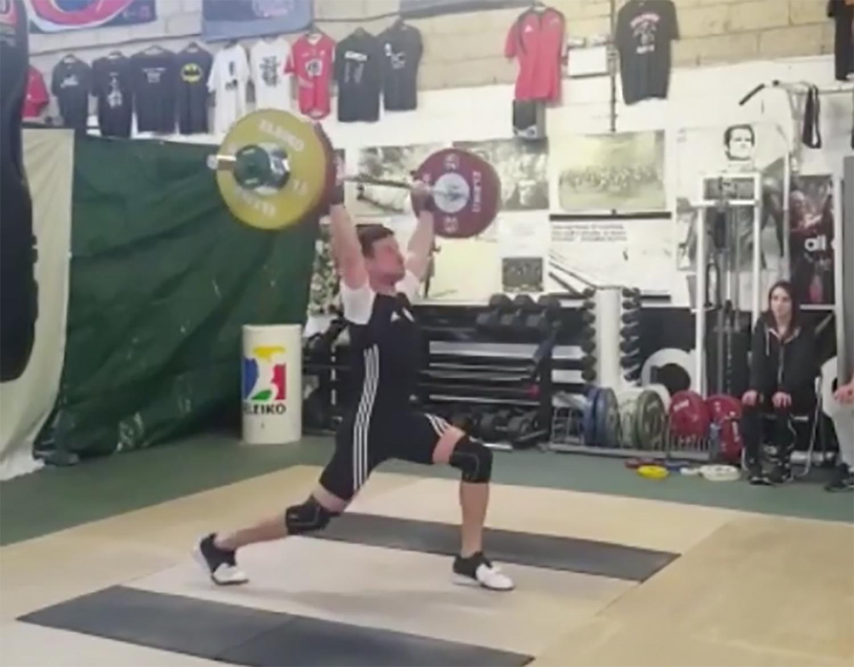Joe at 85kg bodyweight
