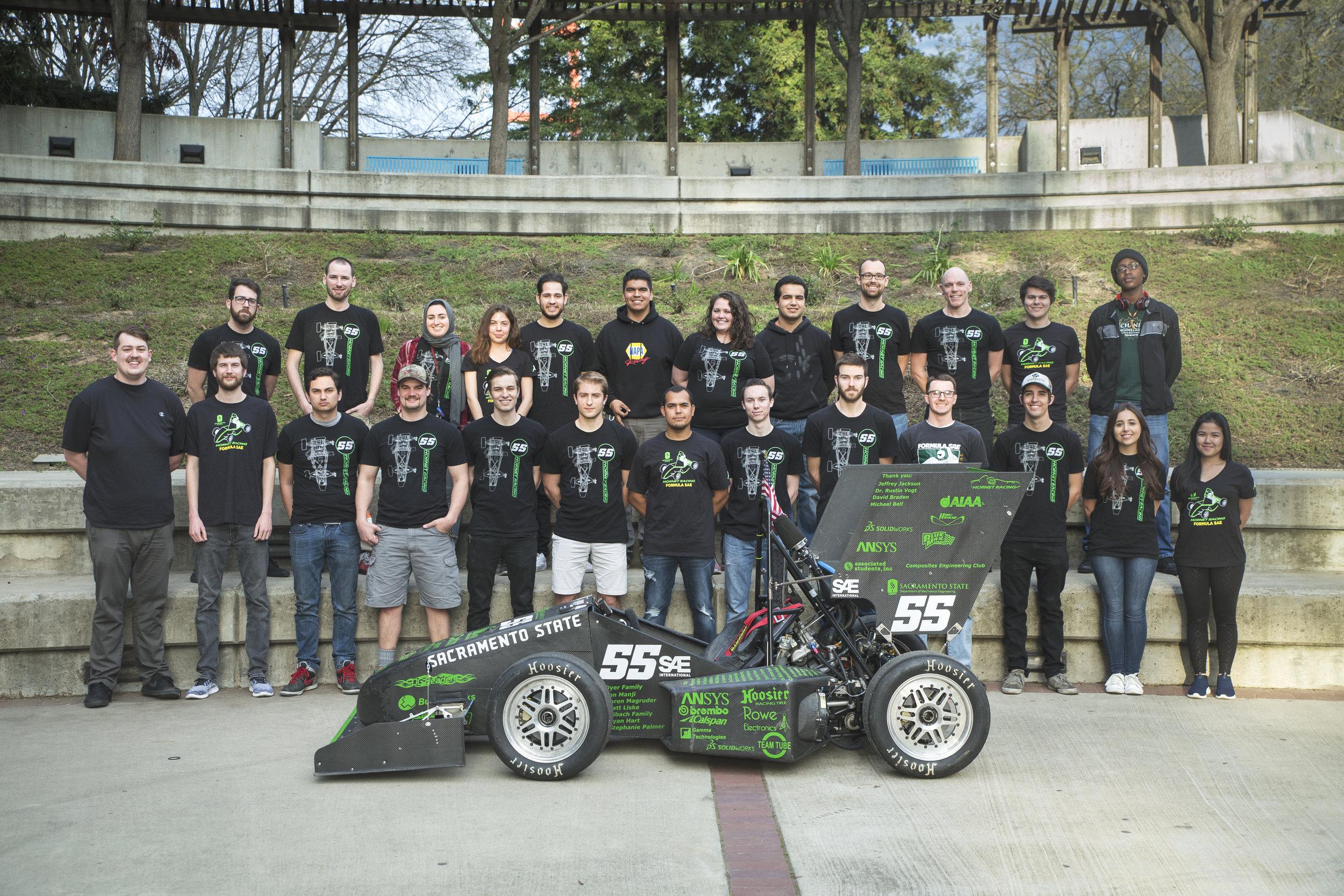 2017 Car, 2018 team