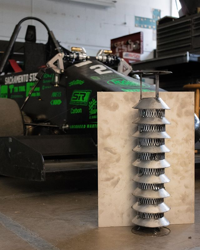 Here's a Valentine's gift from us: a quick look at our 2019 muffler prototype. #HornetRacing