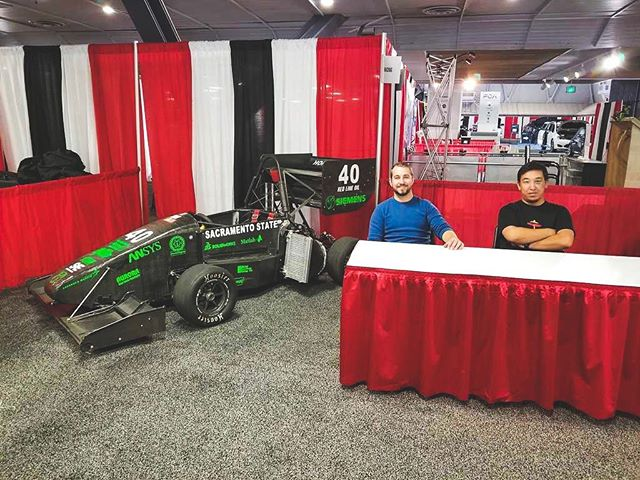 It's the weekend, and Hornet Racing is at the Sac International Auto Show to meet everyone and talk about the car and the team! We will be there today until Sunday at Cal Expo, so be sure to stop by and check us all out!