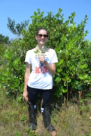 Maria Beatriz Cortez, currently a PhD student in plant systematics