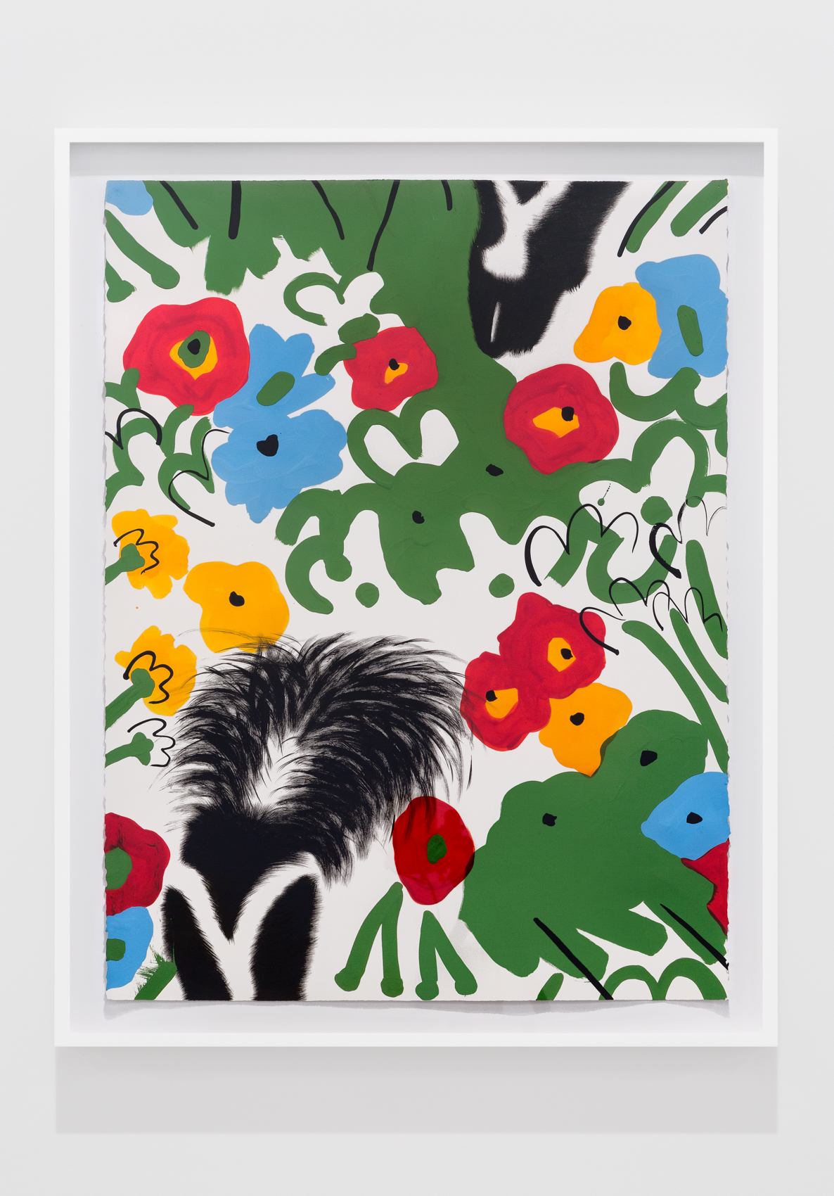 Skunks and Flowers #14