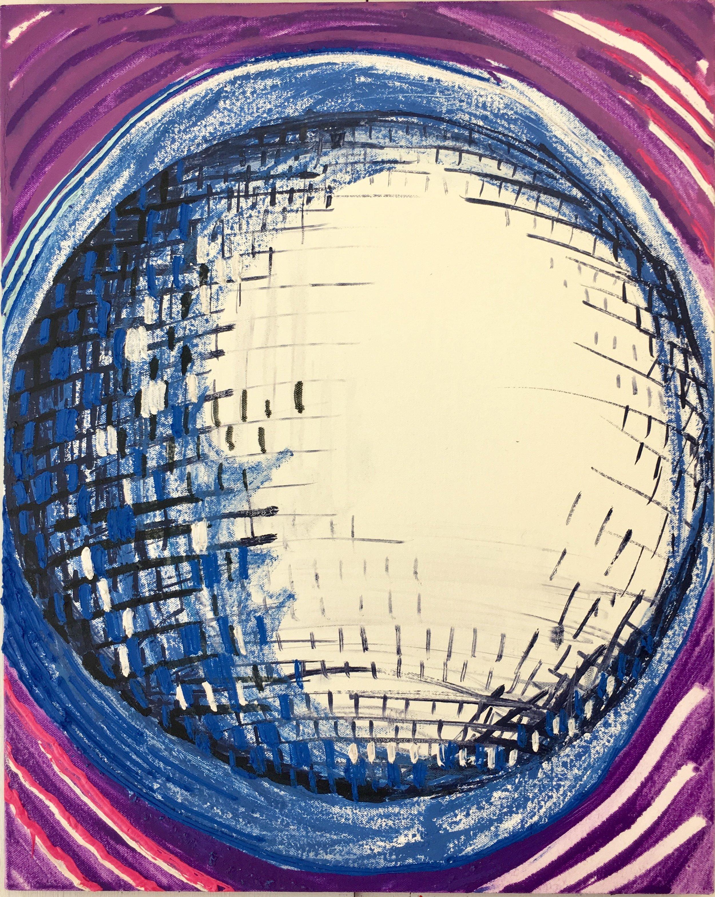 O (mirror ball)