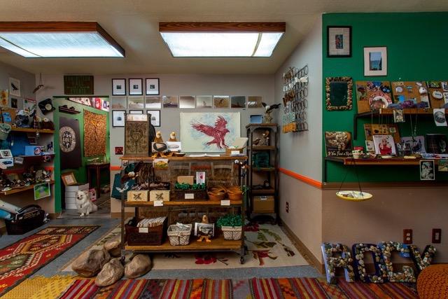 The Eagle Rock Rock and Eagle Shop