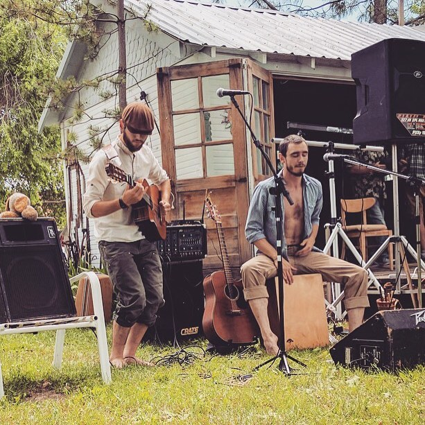 Had fun playing a little set at Karmik Relief last Saturday just outside #bakercityoregon !! We're coming out of a hibernation, so keep your eyes and ears open guys! lots more from Sound and Stone to come :) Smiles! -The Brothers  #soundandstone #soundandstonemusic #brothers #singersongwriter #music #singer #guitar #drums #livemusic #love