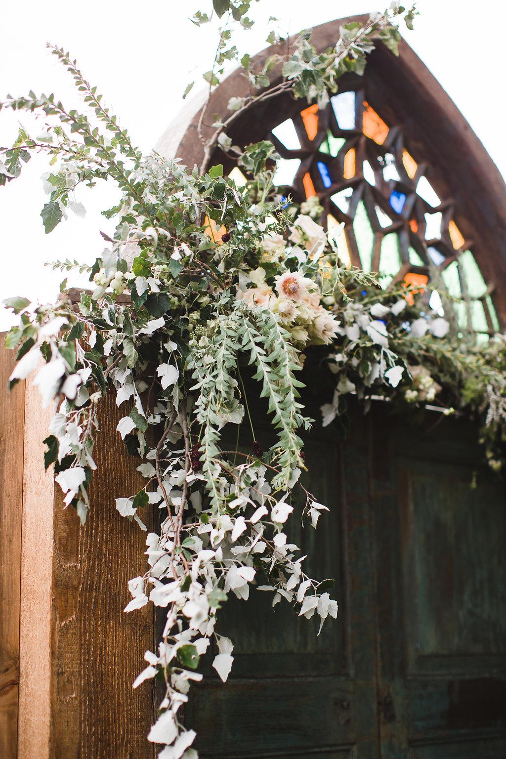 Garden Wedding with Gray Color Scheme -