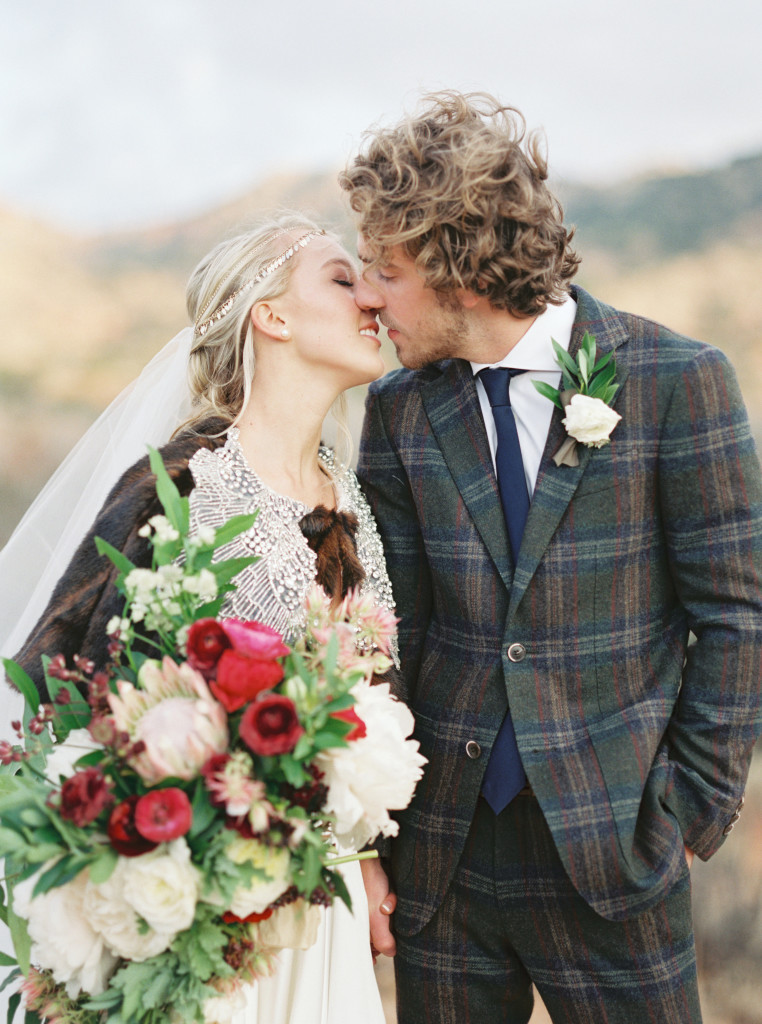 A Style Blogger's December Wedding -