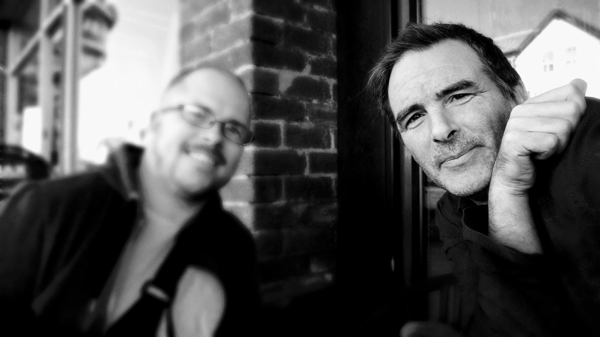 Paul OSeanicain (GoGetYou) with Kane Dodgson (Journal)