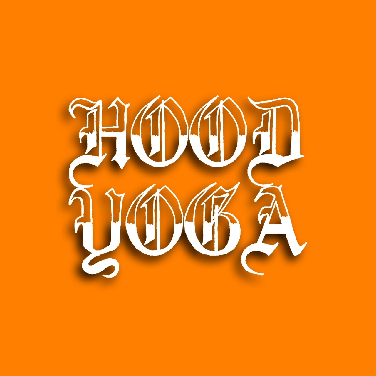 HOOD YOGA PRESENTS    THE CLASSIC DECAL BLACK   COMING SOON