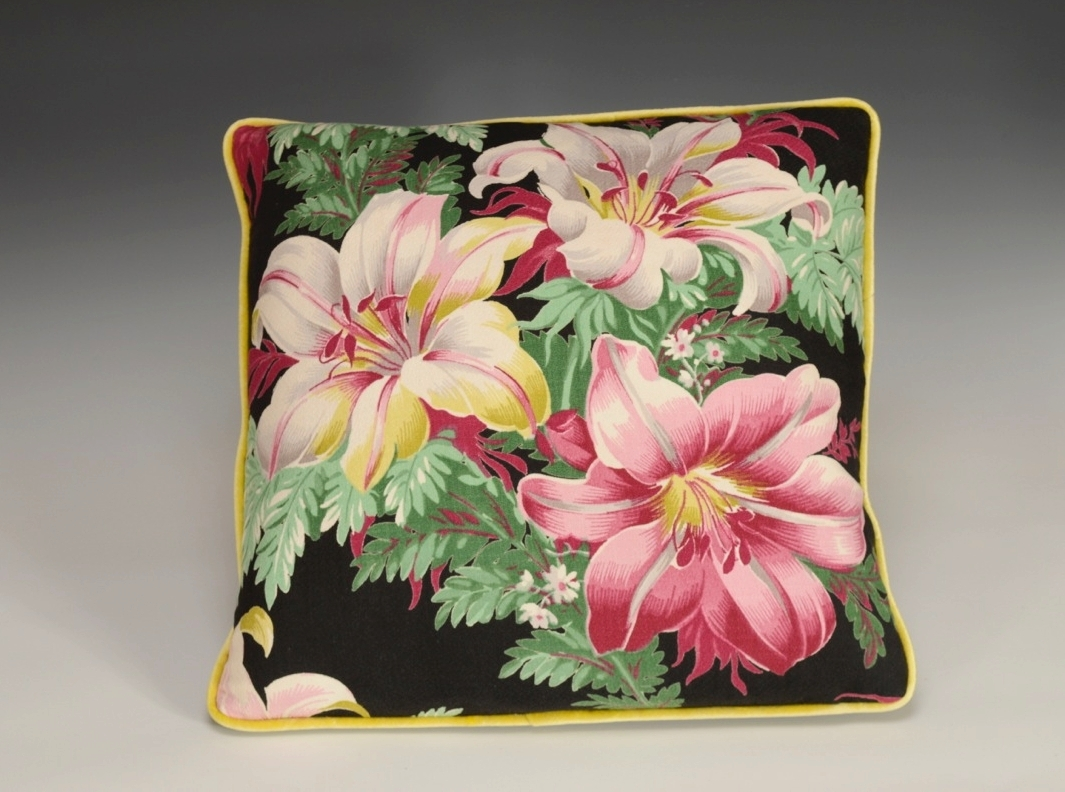 Copy of Hibiscus Pillow