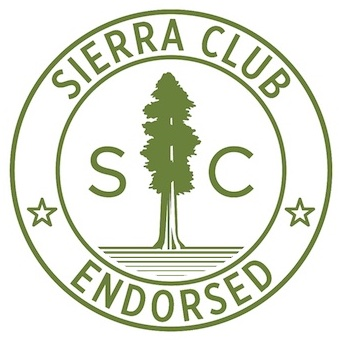 Sierra Club of North Carolina - Sierra Club works to insure a clean and sustainable environment across our state and the country. I am proud to be endorsed by them and work towards a sustainable environment for generations to come.Learn more: https://www.sierraclub.org/north-carolina