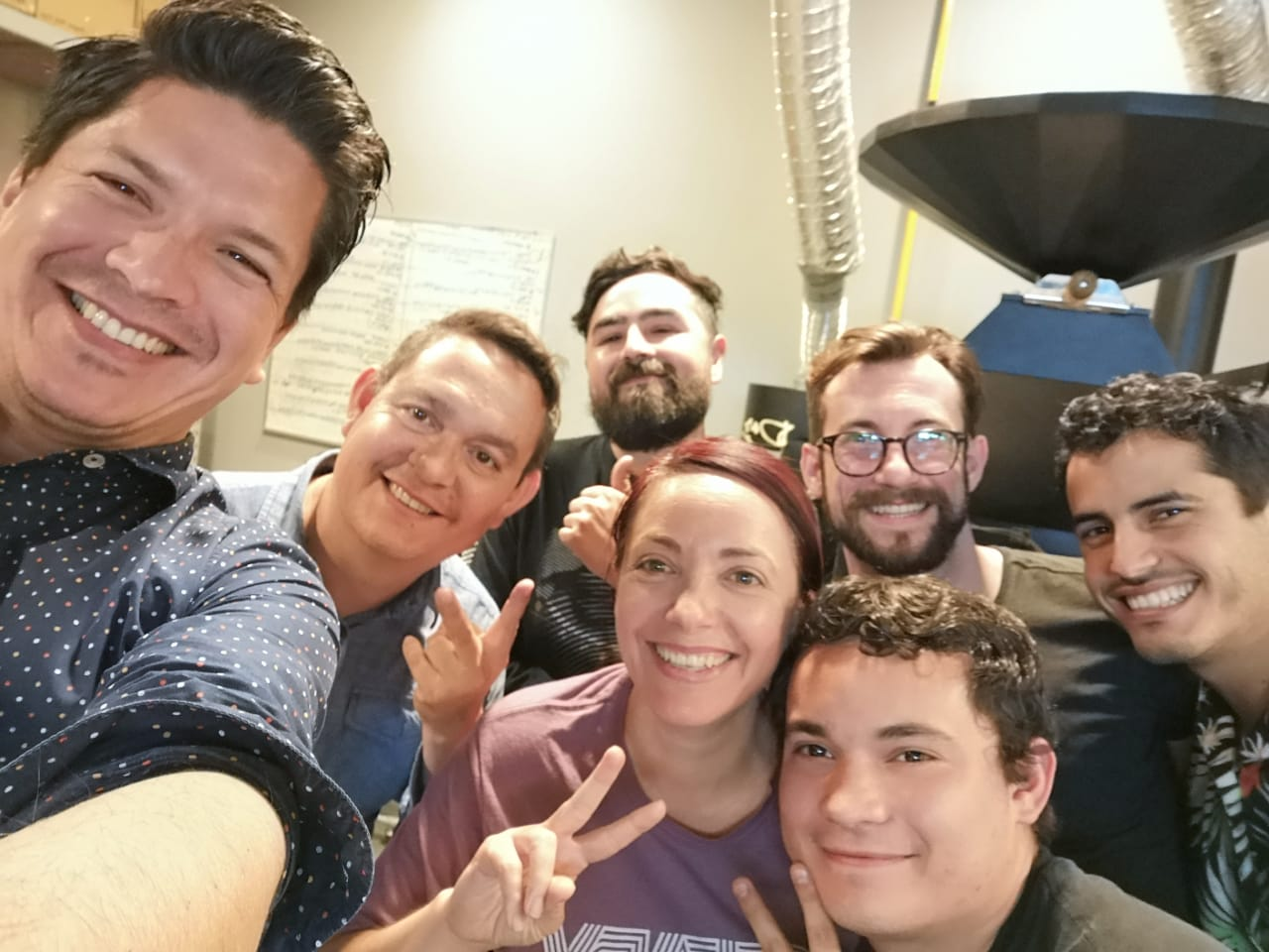 Happy team after the final day of the MAP IT FORWARD tailored intensive consultation program for Baristas Bravos in Tijuana, Mexico. Could be more proud of these coffee professionals at and what they have coming  @baristasbravos