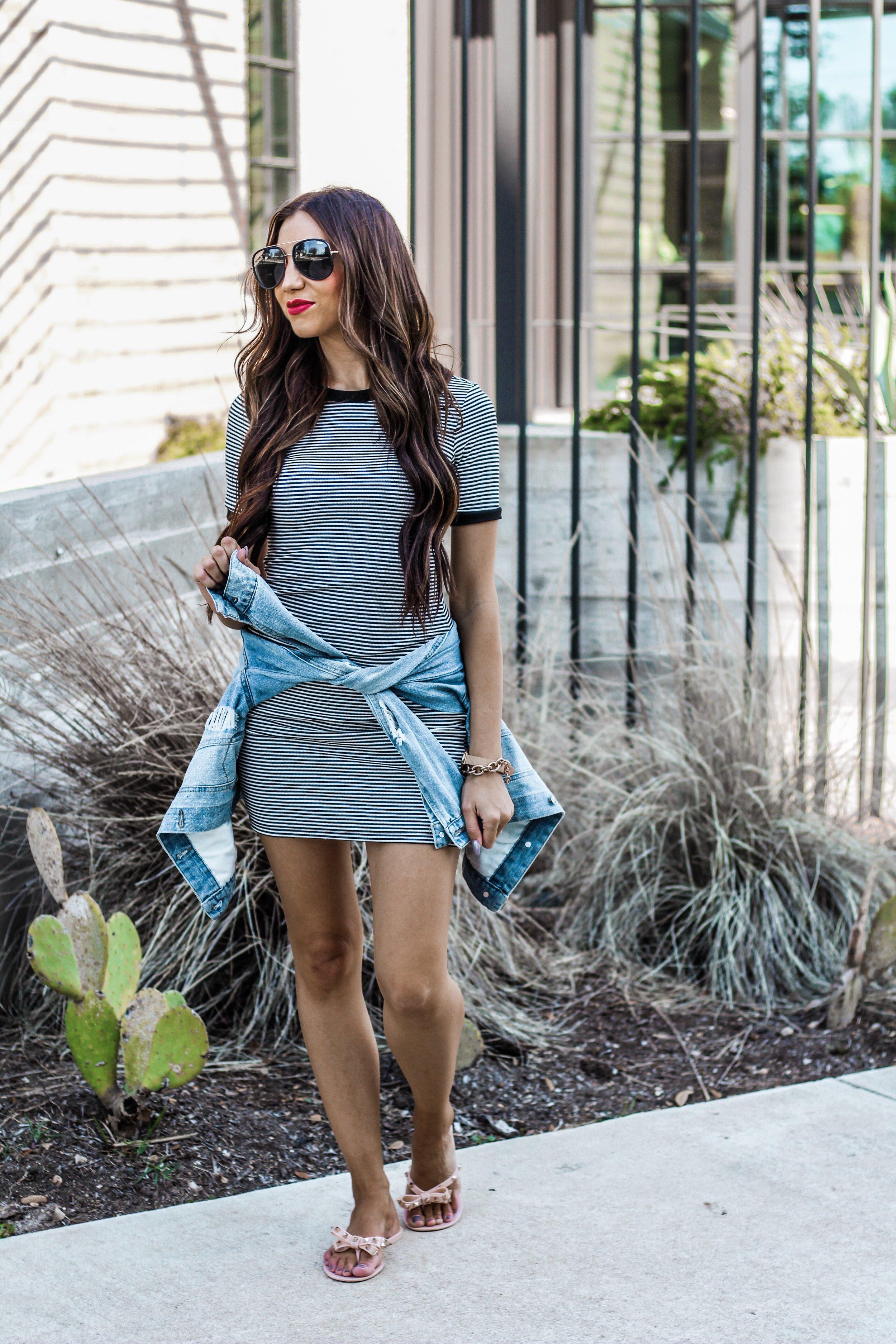 Ashlee Jaine Jean Jacket Style Waist