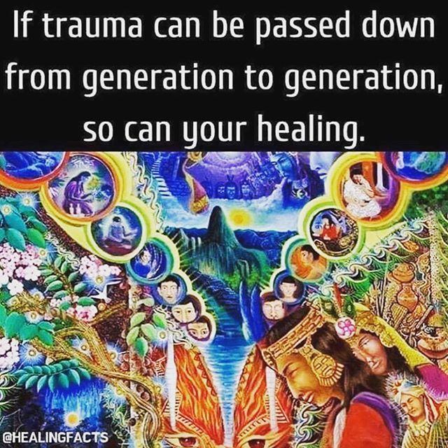 Healing generational curses is revolutionary. #trauma #traumarecovery #mentalhealth #mentalhealthrecovery #ptsd #cptsd #healingenergy