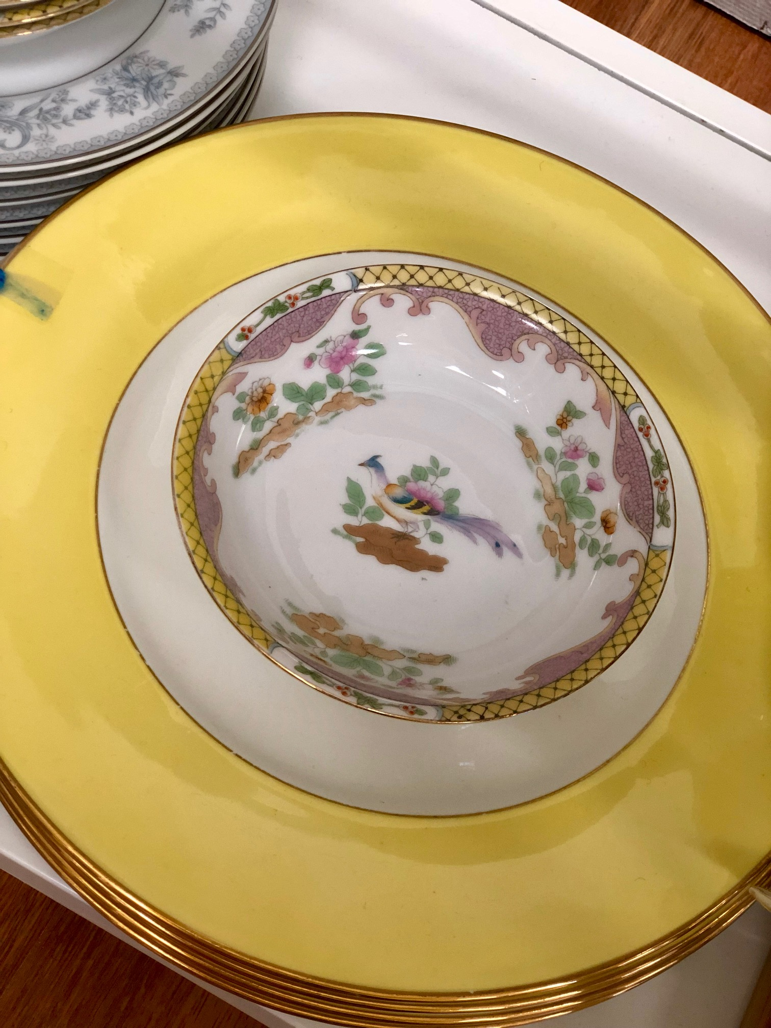 Hip at Grove   has a plethora of vintage china to set any table style you could want!