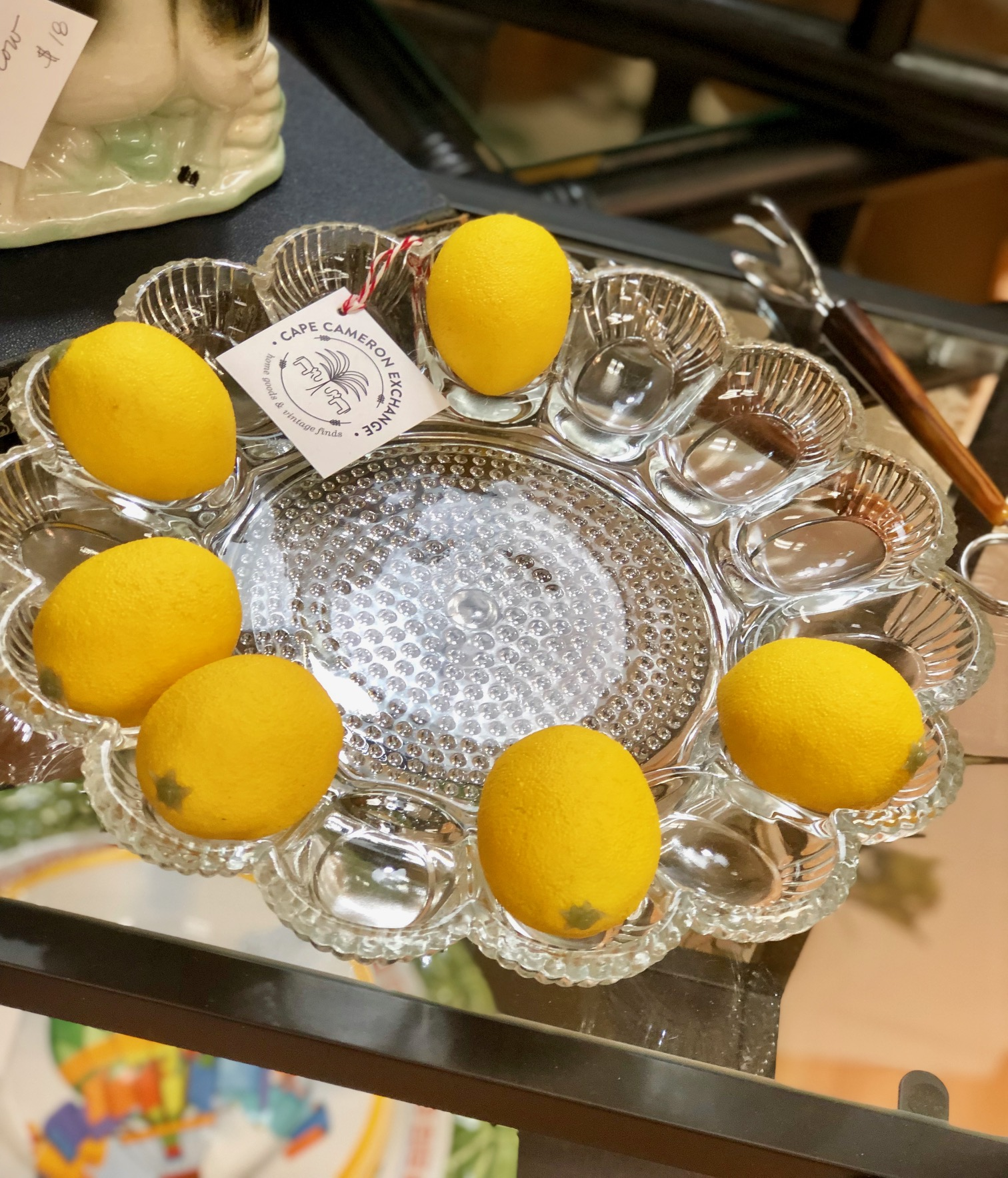 Are you even a southern host if you don't own a deviled egg tray?   Cape Cameron Exchange