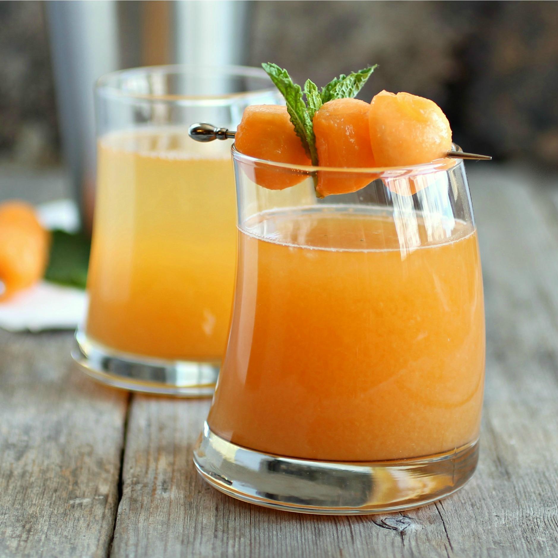 Cantaloupe Melon Martini 1 Square.jpg