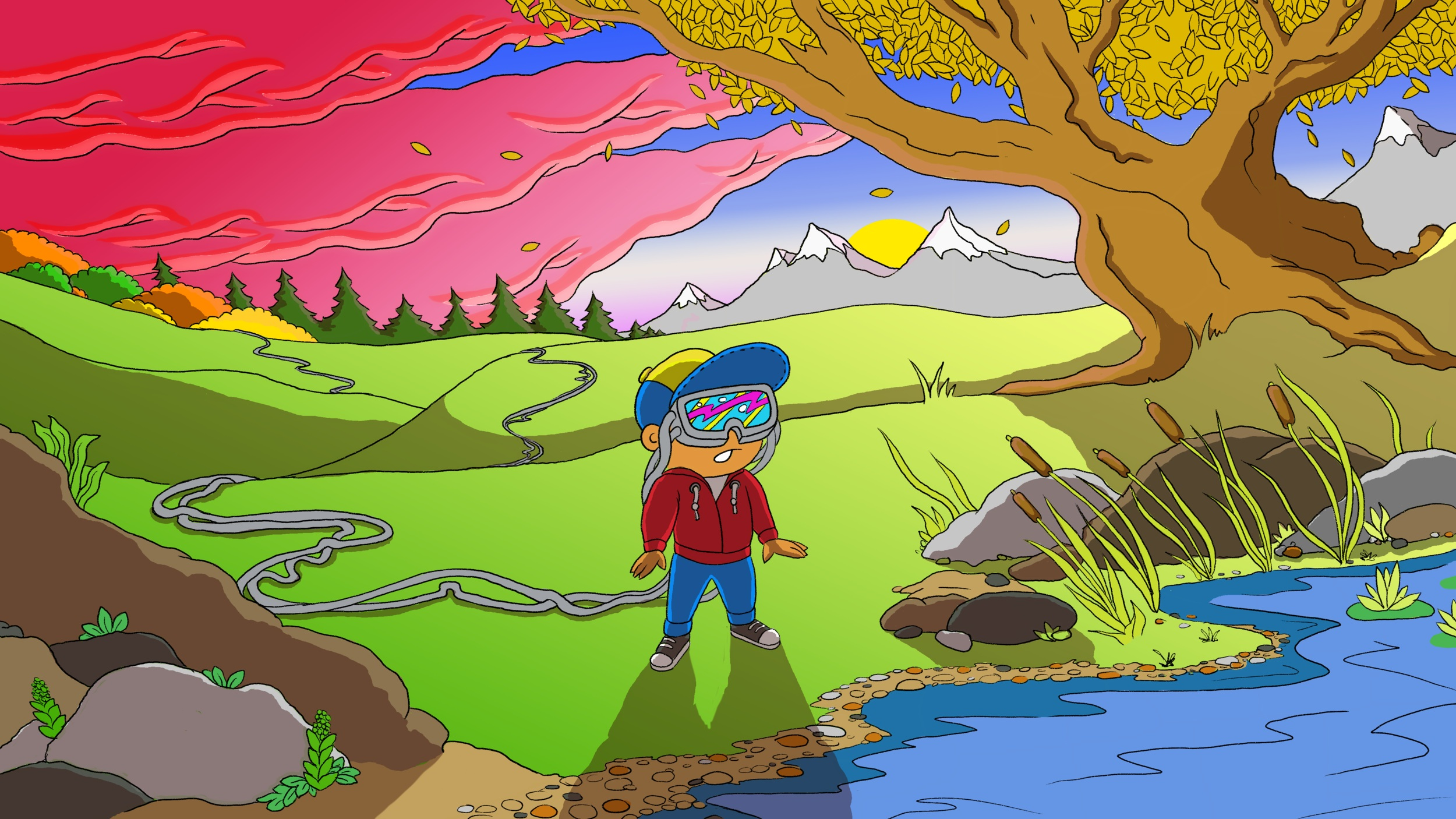 Animated Series - Are you ready for an adventure? We are actively seeking partners to help us tell the story of the Wonderful World of the Earthmounds! Join Jordan, a tech-obsessed tween, as his family moves to the country. Jordan learns that the Earth is alive, and far more fantastic than his favorite video games!