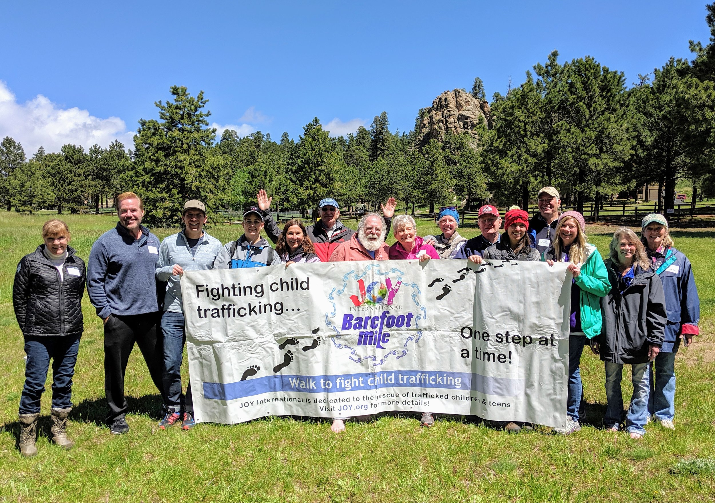 Mountain Community Barefoot Mile 2019
