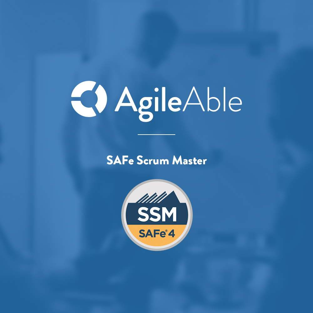 SAFe Scrum Master - • Introducing Scrum in SAFe• Characterizing the role of the Scrum Master• Experiencing Program Increment planning• Facilitating Iteration execution• Finishing the Program Increment• Coaching the Agile team