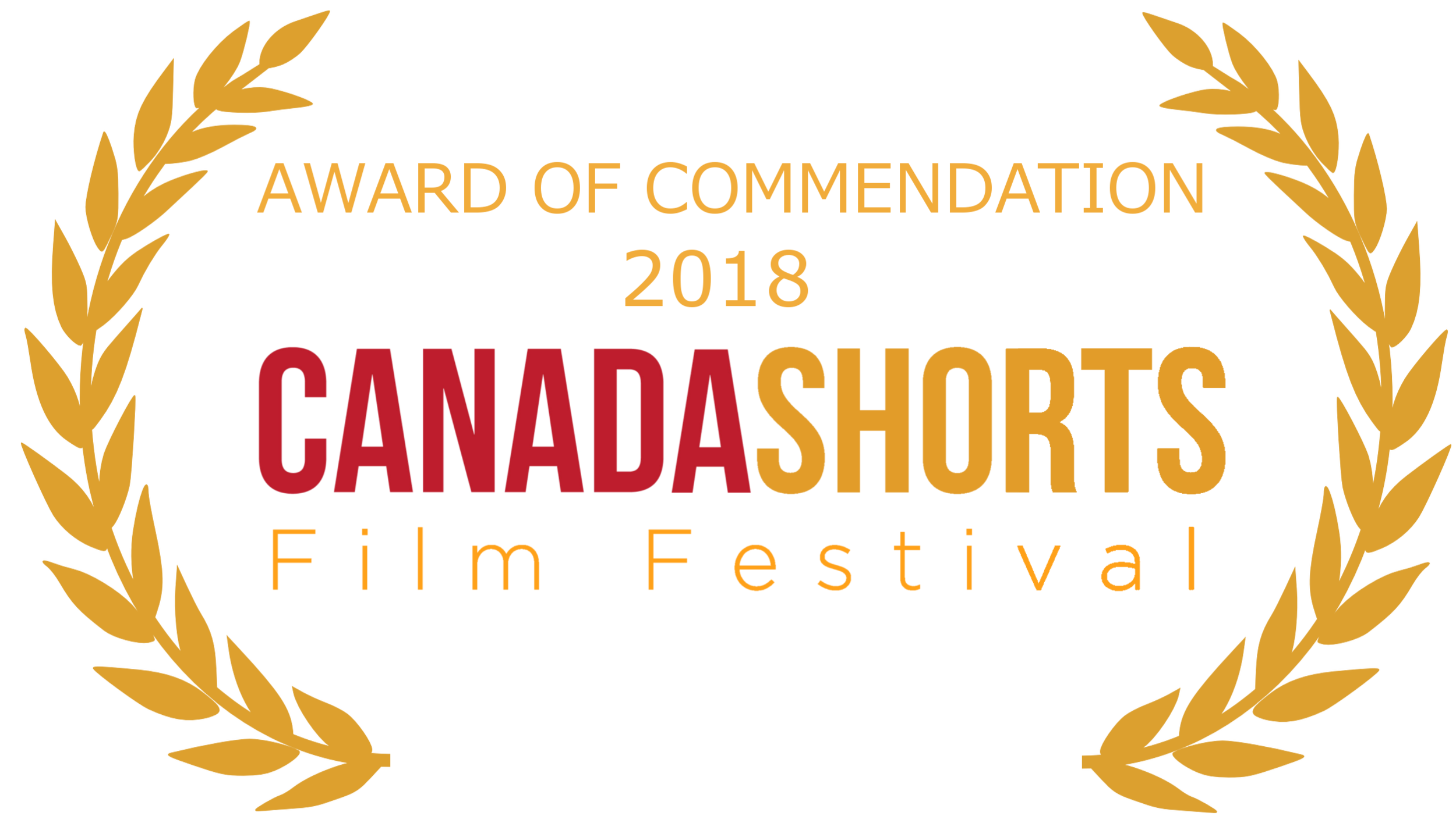 15. Canada Shorts AWARD OF COMMENDATION laurel - gold.png