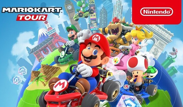 new post reviewing the new mario kart tour app! be sure to check it out, link in bio🚘