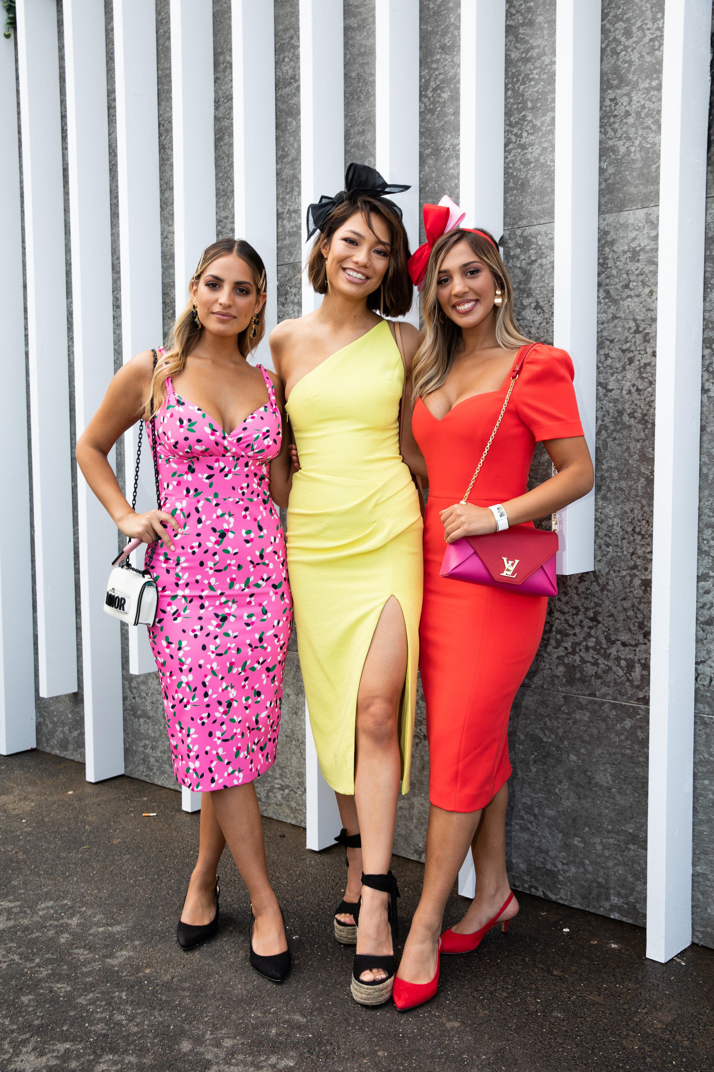 Jade Tunchy, Lavinia Smith and Yasmin Tunchy