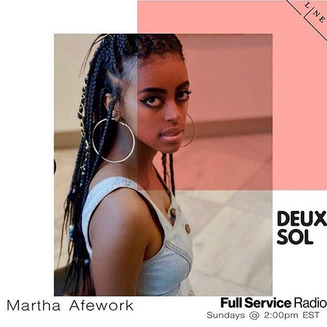 Catch my link-up tomorrow with @deuxsol & @fullserviceradio at 2PM EST ❤️