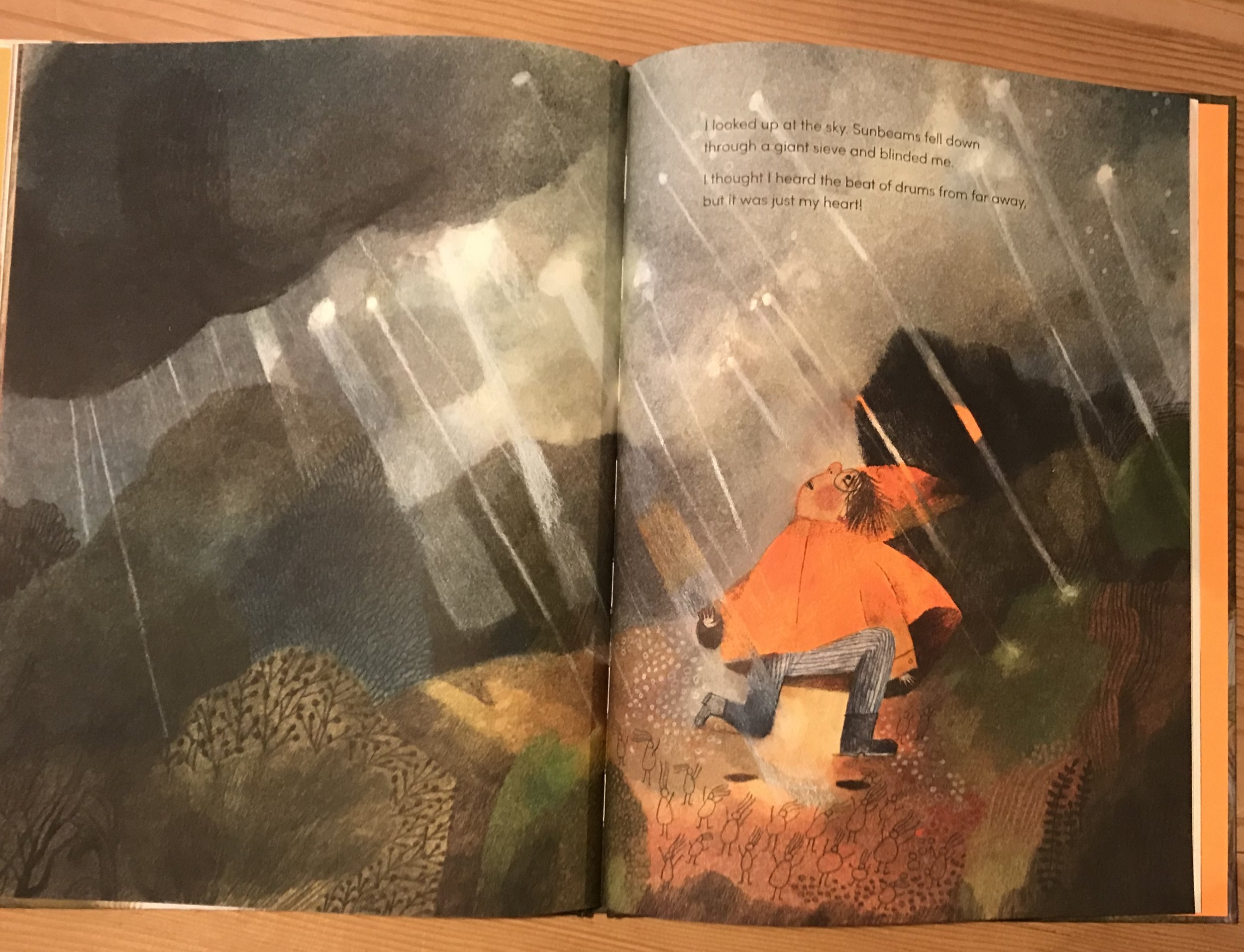 On a Magical Do-nothing Day  by Beatrice Alemagna (Thames & Hudson)