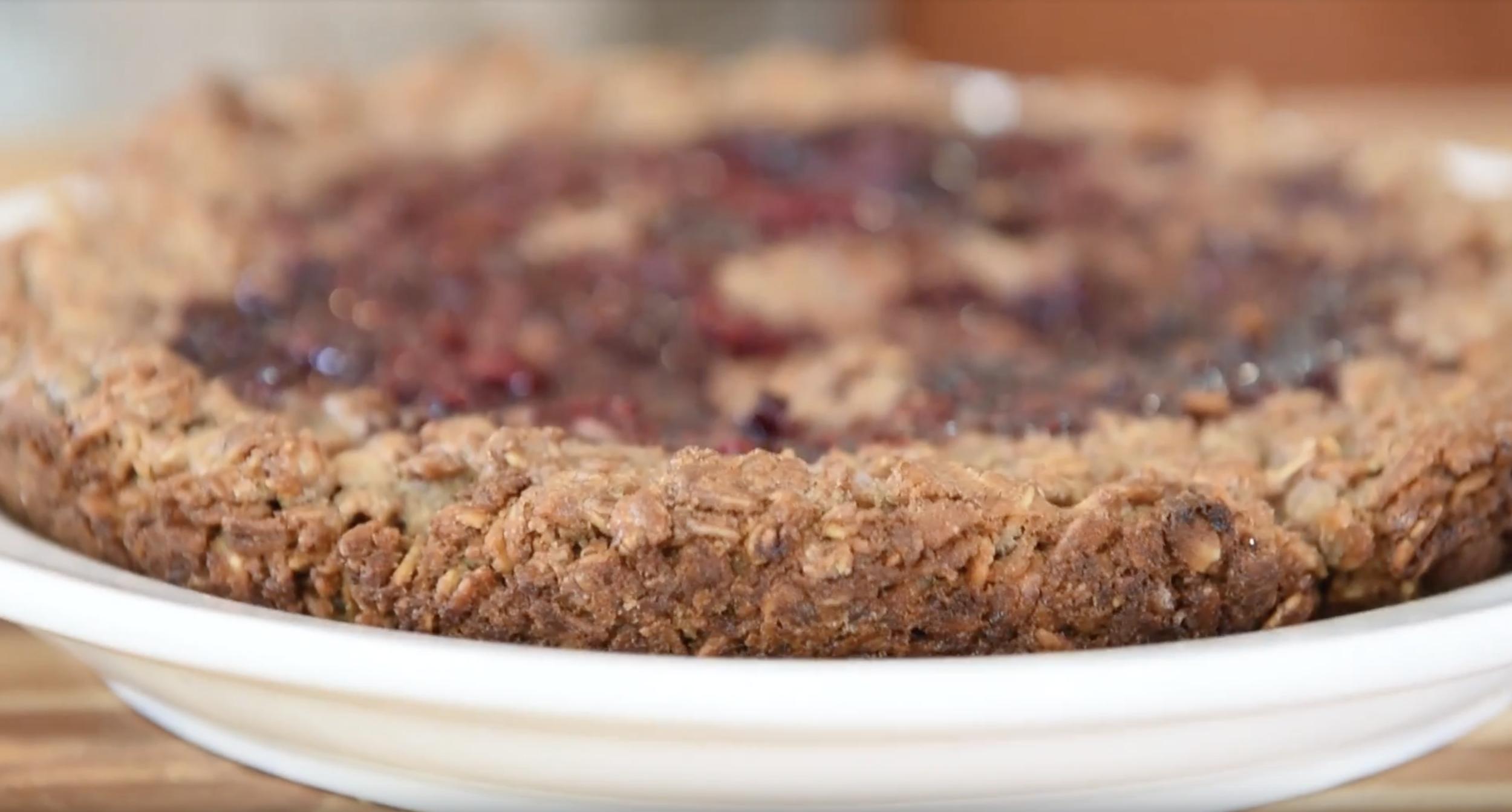 Blackberry Oatmeal Cake