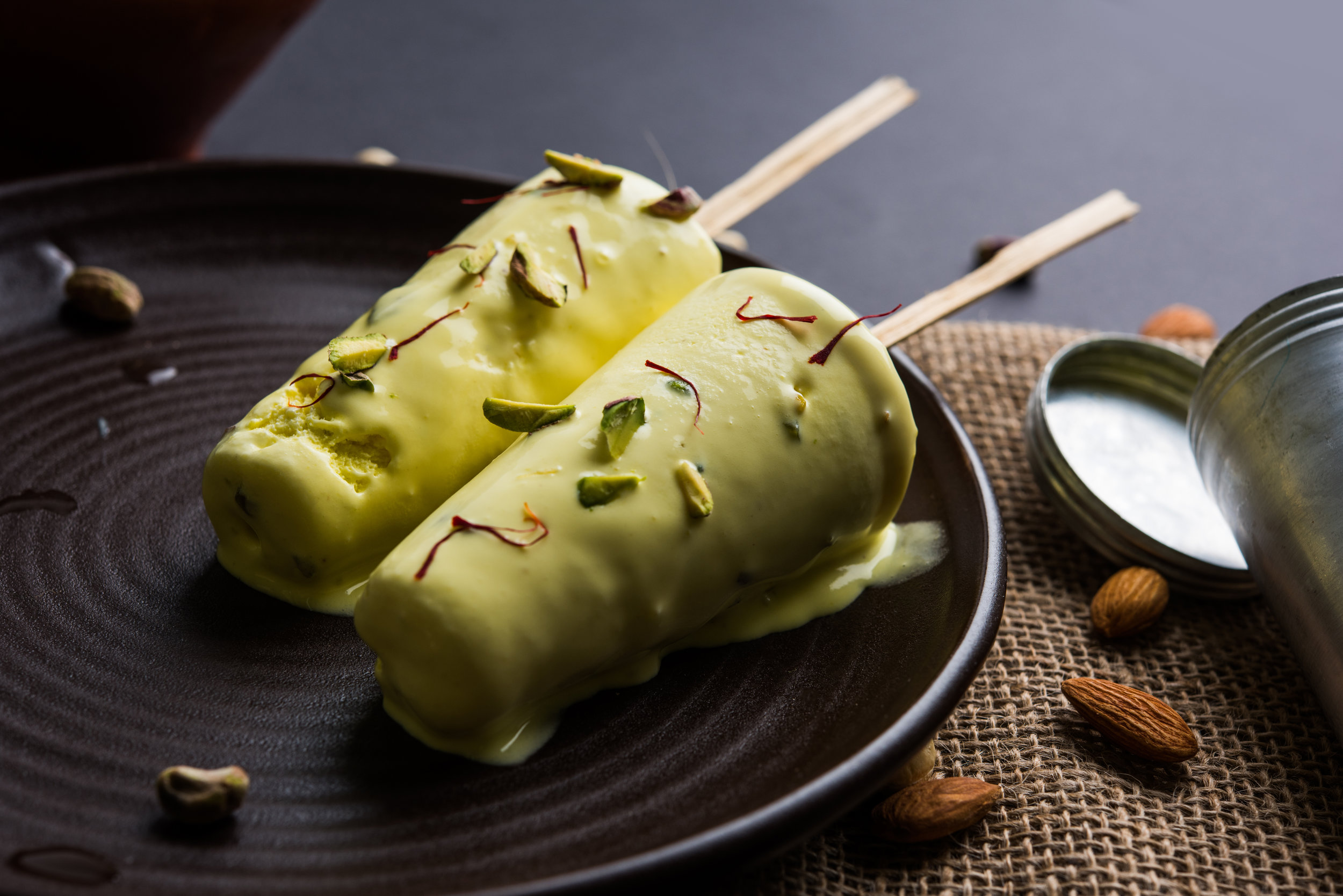 Krewella's Pistachio Mango Kulfi