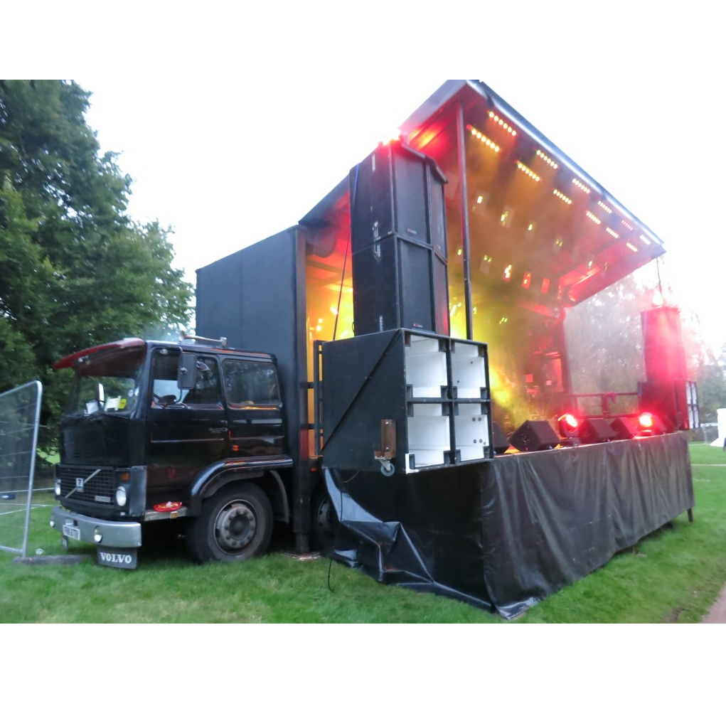 Truck Stage from Stage Bus